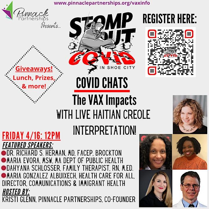 COVID VAX Chats (w/ Haitian Creole Interpretation) image