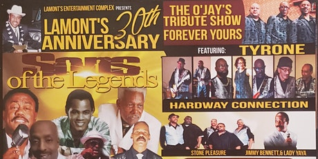 Lamont's 30th Anniversary tickets