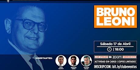 CLUB DE LIBERTAD - HOMENAJE A BRUNO LEONI entradas