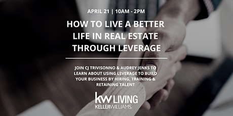 How To Live A Better Life In Real Estate Through Leverage tickets