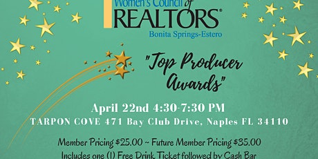 Top Producer Awards tickets
