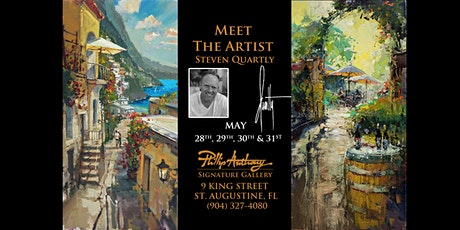 Meet the Artist - Steven Quartly - May 28th - May 31st tickets