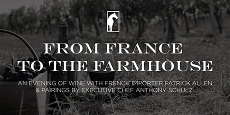 From France to the Farmhouse: A five-course Wine Dinner at Rockmill Brewery tickets