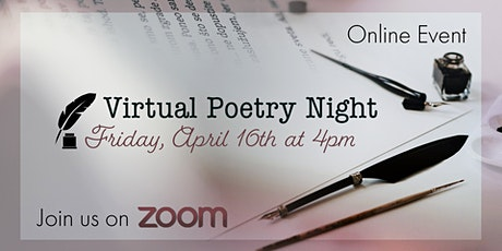 Annual Poetry Night tickets