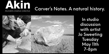 Carver's Notes. A Natural History. In conversation with Jo Sweeting tickets