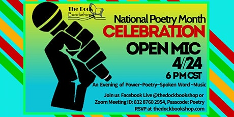 National Poetry Month Open Mic tickets