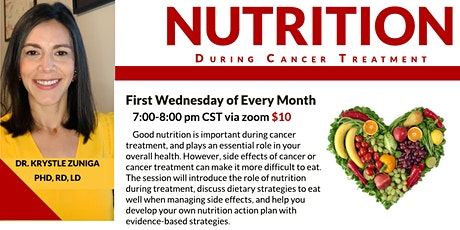 Nutrition During Cancer Treatment tickets