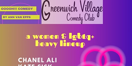 Oooh! Comedy & Greenwich Village Comedy Club present women & lgbtq+ show tickets