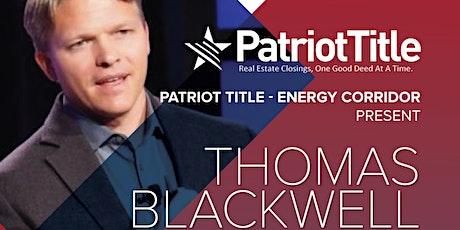 Energy Corridor - Thomas Blackwell tickets
