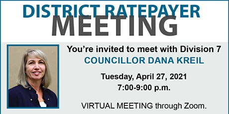Division 7 Virtual Ratepayer Meeting tickets