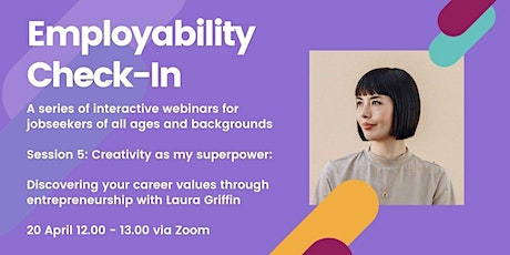 Employability Check-In: Creativity as my Superpower tickets
