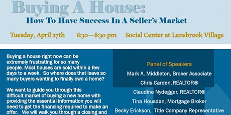 Home buying seminar tickets