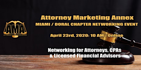 Attorney Marketing Annex™ Speed Networking by the Coffee Network Club™ tickets