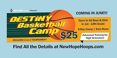 Destiny Basketball Camp tickets