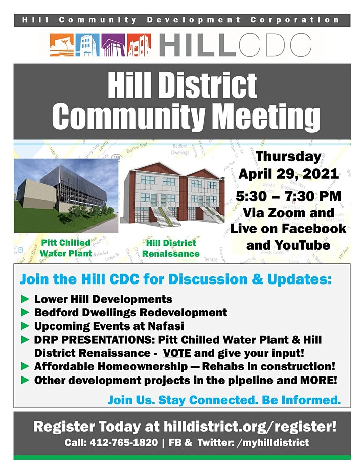 April 2021 - Virtual Hill District Community Meeting image