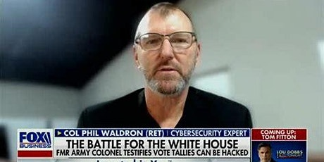 COL  PHIL WALDRON - ELECTION FRAUD BUSTER -AMERICAN  HERO tickets