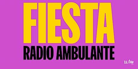 Fiesta Zoom Radio Ambulante entradas