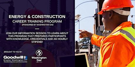 Energy & Construction Career Training Program - Info Sessions tickets