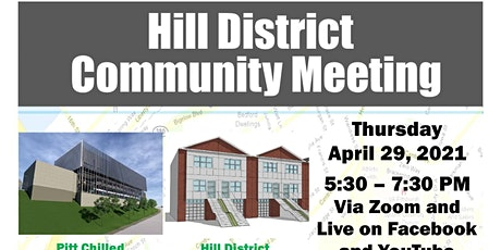 April 2021 - Virtual Hill District Community Meeting tickets