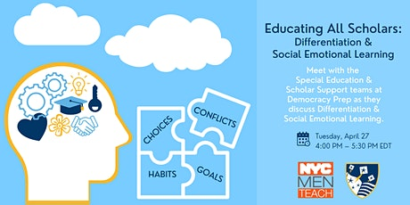 Educating All Scholars: Differentiation & Social Emotional Learning tickets