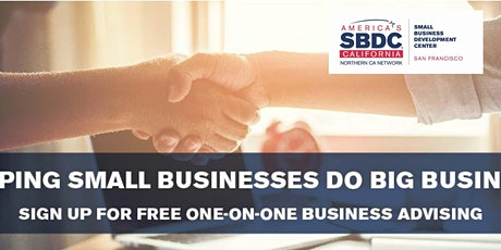 Weekly Q&A Session with SBDC Financial Advisor tickets