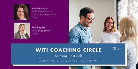 WITI Coaching Circles: Be Your Best Self tickets