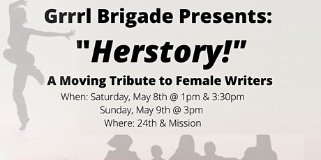 """Herstory!"" A Moving Tribute to Female Writers tickets"