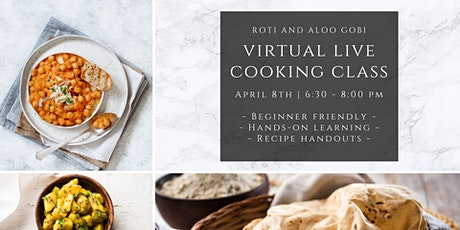 Samosa & Chutney Virtual LIVE Cooking Class tickets