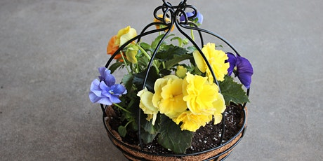 Mother's Day floral  patio planter class tickets