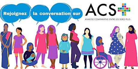 Une conversation sur l'ACS+ billets