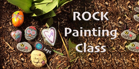 Rock Painting Class tickets