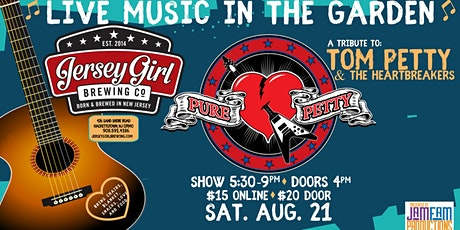 Pure Petty: Tribute to Tom Petty & The Heartbreakers @ Jersey Girl Brewing! tickets