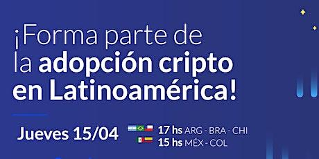 Forma parte de la adopción cripto en Latinoamérica tickets