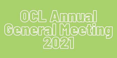 2021 Oliver Community League Annual General Meeting tickets