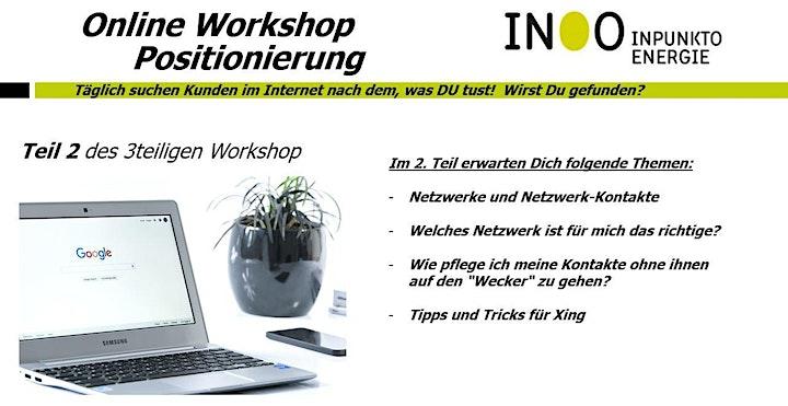 online-Webinar Positionierung (Teil 2): Bild