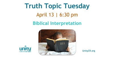 Truth Topic Tuesday | Biblical Interpretation
