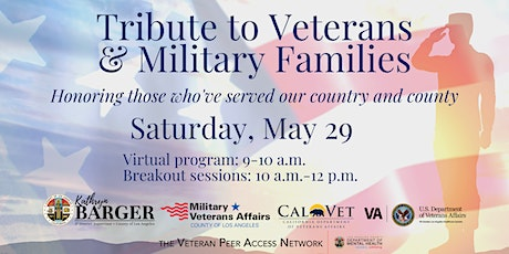 2021 Tribute to Veterans & Military Families tickets