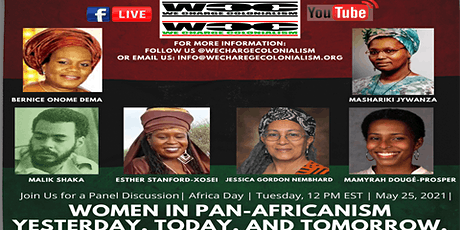 Africa Day  2021 | Women in Pan Africanism Yesterday, Today, Tomorrow tickets
