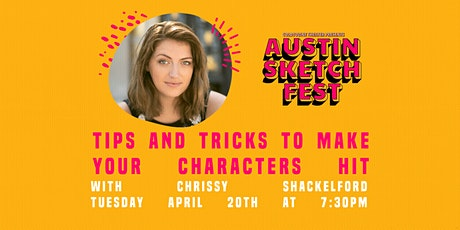 Tips and Tricks to Make Your Character Hit :: Chrissy Shackelford tickets