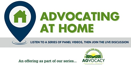 Advocating at Home tickets