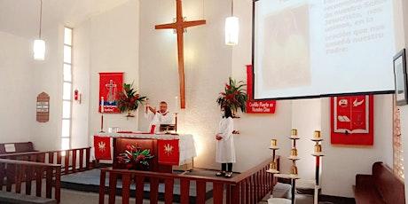 ¡Pentecostés! 23 de mayo, 2021. Oficio Mayor con Santa Comunión. entradas