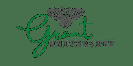 Grant University: Grant Readiness tickets