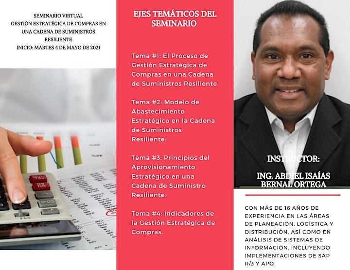 Imagen de SEMINARIO VIRTUAL: GESTIÓN DE COMPRAS Y SUMINISTROS