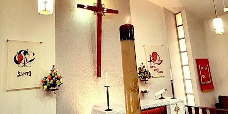 Santísima Trinidad. 30 de mayo, 2021. Oficio Mayor con Santa Comunión. entradas
