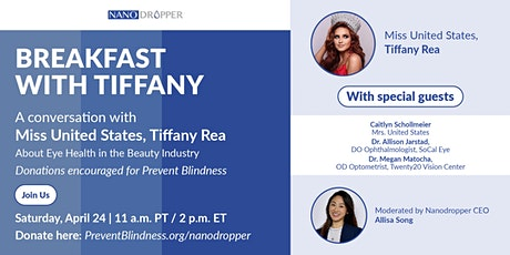 Breakfast With Tiffany — A Conversation with Miss United States tickets