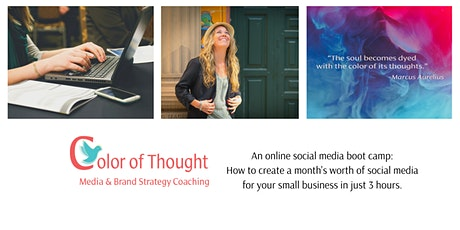 Color of Thought Social Media Boot Camp tickets