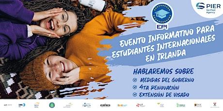 Evento Informativo para estudiantes Internacionales  en Irlanda entradas