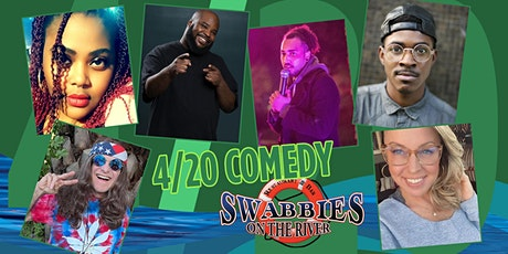 4/20 Comedy Event @ Swabbies on the River tickets