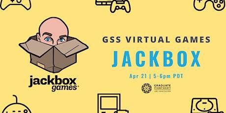 Virtual Games Round 3: More Jackbox! tickets