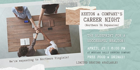 Career Night - The Blueprint for a Successful REALTOR in Northern Virginia! tickets